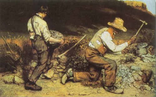 The Stone Breakers   Gustave Courbet  1849